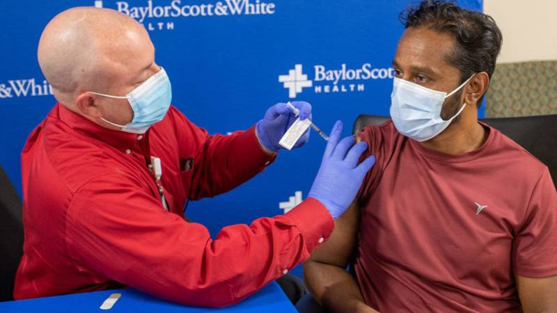 As of Oct. 1, about 98 percent of the workforce, systemwide, at Baylor Scott & White Health was...