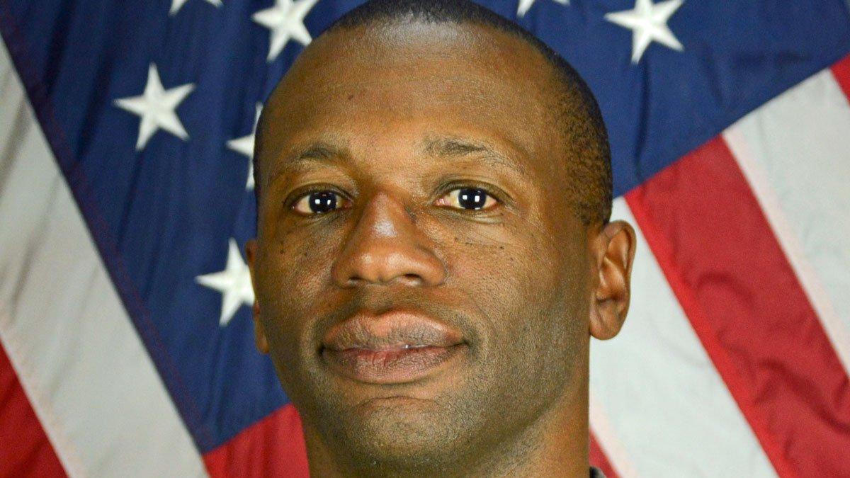 Sgt. First Class Allan E. Brown. (Fort Hood photo)