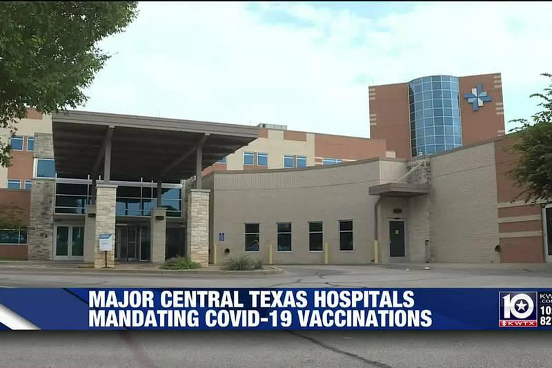 Central Texas hospitals