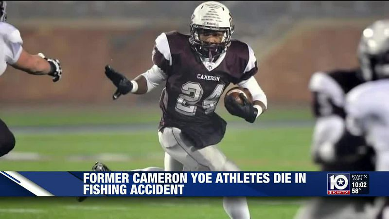 Former Central Texas high school football star among two who died in fishing accident