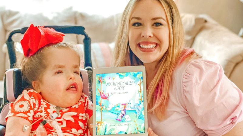 Stephanie Wolfe's book was inspired by her daughter Addie who was born with significant...