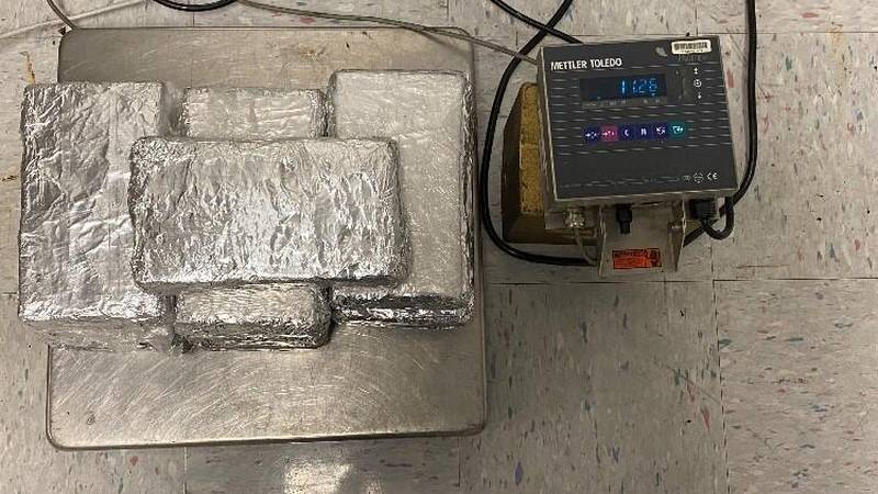 Packages containing nearly 25 pounds of cocaine seized by CBP officers at Eagle Pass Port of...