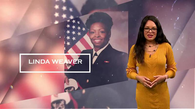 Veteran Linda Weaver served as a nurse for the Veteran's Administration and the U.S. Navy Nurse...