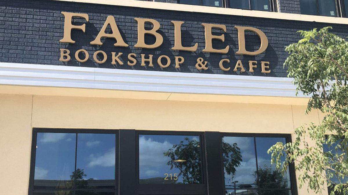 The latest establishment to open this week is the Fabled Bookshop and Cafe on 4th Street. (Photo by John Carroll)