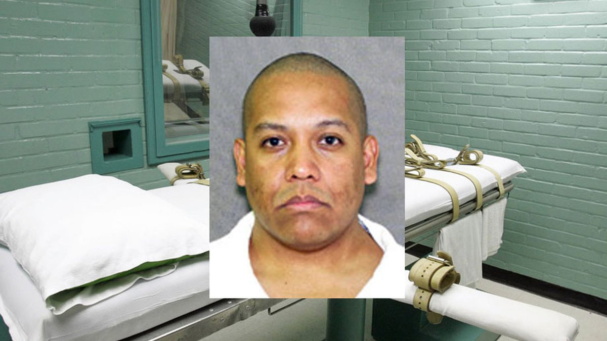 Fabian Hernandez was scheduled to die on April 23, but the execution is on hold. (Texas prison...