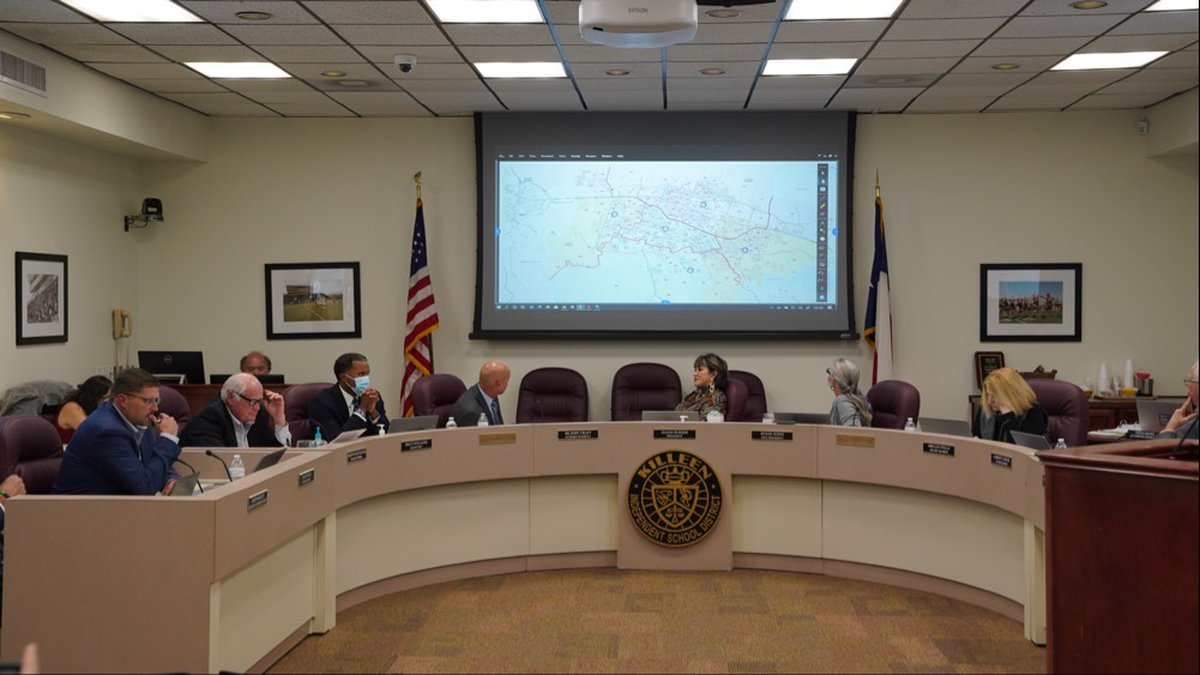 During a board meeting on Oct. 12, the Killeen Board of Trustees agreed on a rezoning proposal...
