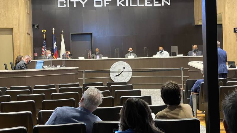 PEOPLE CAN STILL CARRY GUNS INTO CITY MEETINGS IN KILLEEN AFTER COUNCIL VOTED ON THE ISSUE...