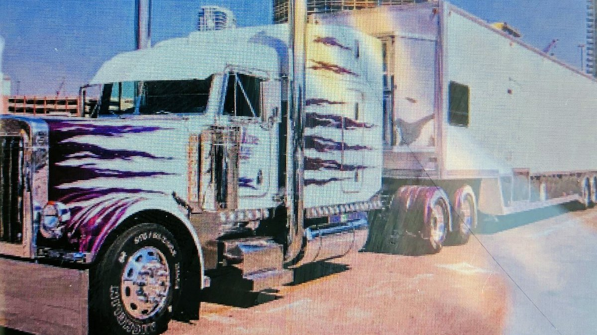 The McLennan County Sheriff's Office is trying to identify a trucker and the 18-wheeler he's...