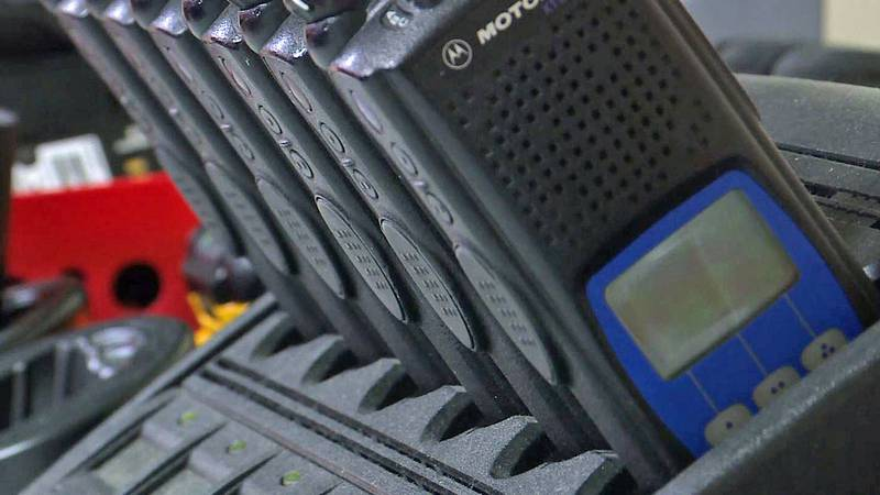 Several area fire departments are replacing outdated communications gear with radios donated by...