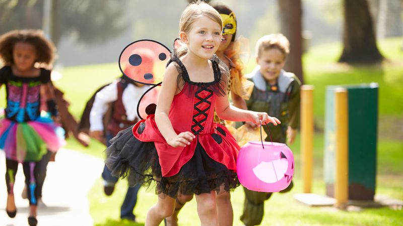 Health officials in one area county say trick-or-treating is OK as long as it's done safely....