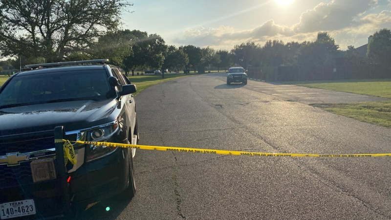 Hewitt officers responded to the shooting at Hewitt Park Wednesday evening.