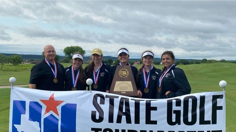 Crawford girls place third as a team at state.