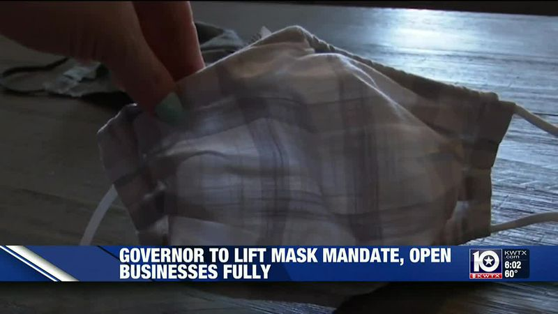 Gov. Abbott to lift mask mandate, ease business capacity restrictions next week
