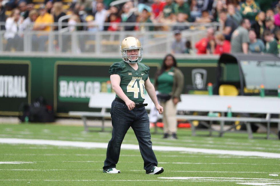 File Photo: Clint Lewis at McLane Stadium