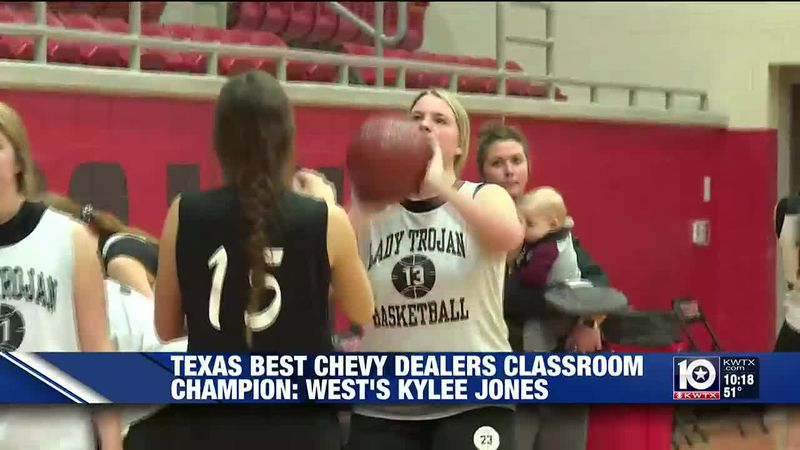 Kylee Jones West Basketball