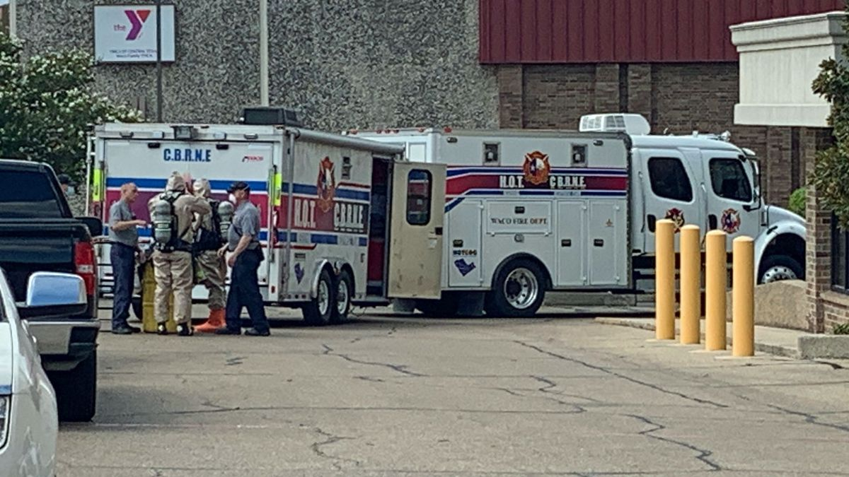 A Waco Fire Department Hazmat team responded after what was described as a suspicious letter...