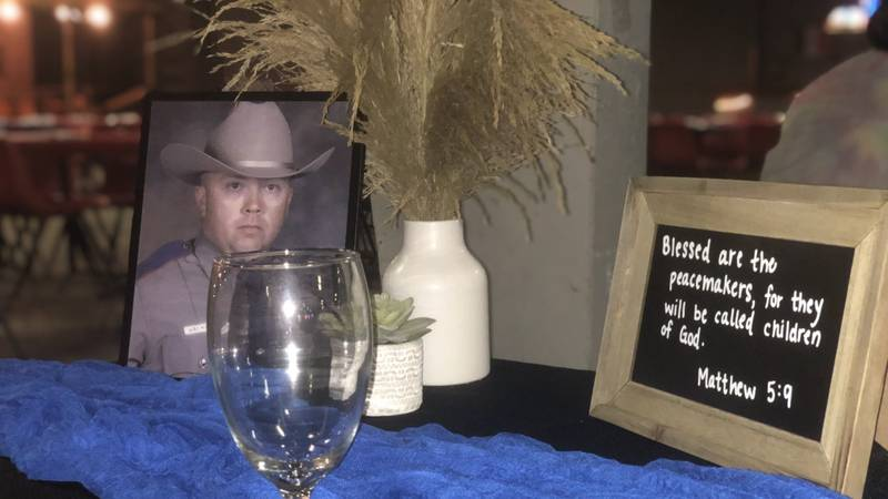 """The family of fallen DPS Trooper Chad Walker is getting some help after the non-profit """"Steaks..."""