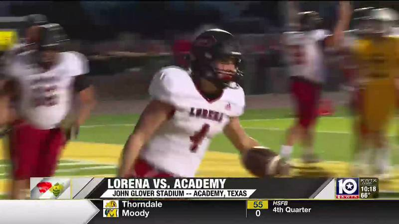 Lorena beats Academy to open up District play