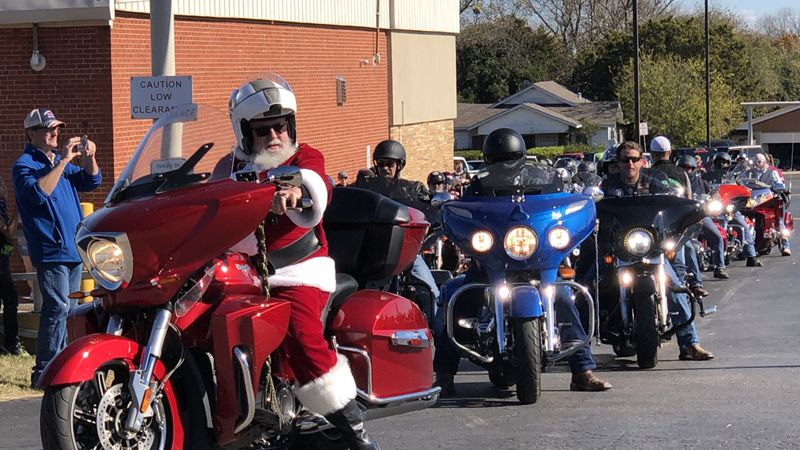 Hundreds of motorcyclists, their clubs and some local boy scout troops took part in the 28th...