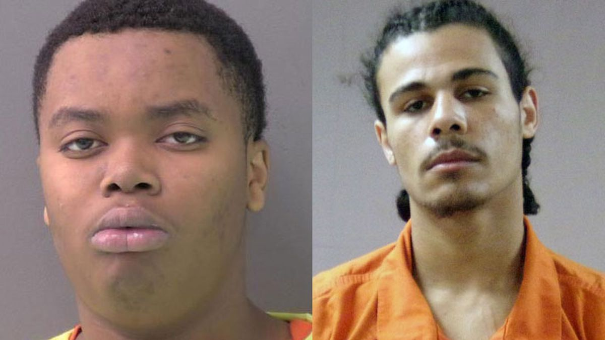 Jason Lomas, Jr., 17, (left) and Jordan Xavier Bennett, 17, both of Killeen, were charged in connection with the home invasion. (Jail photos)