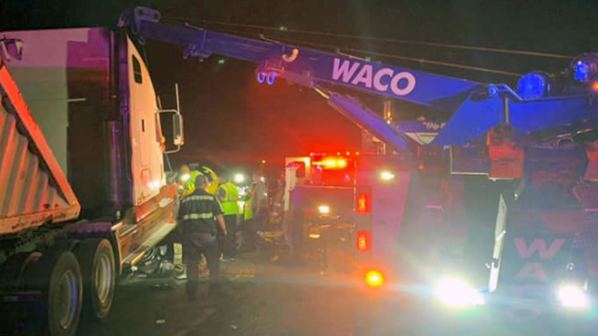 The crash occurred at around 8:30 p.m. Friday at the intersection of East Loop 340 and Idylwood...