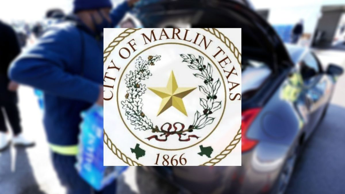 After over a week long water crisis in Marlin the city officials are pleading with the...