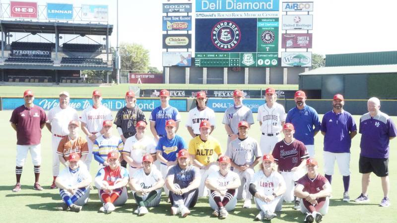 The 2021 THSBCA All-Star game South team.