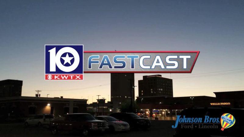 fastcast clear sky waco sunset sunrise