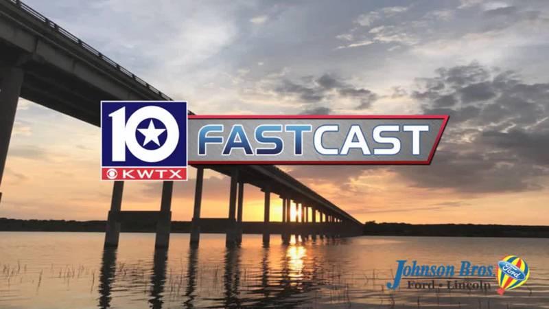 fastcast sunset lake orange water bridge sunrise overcast sun waco golden yellow