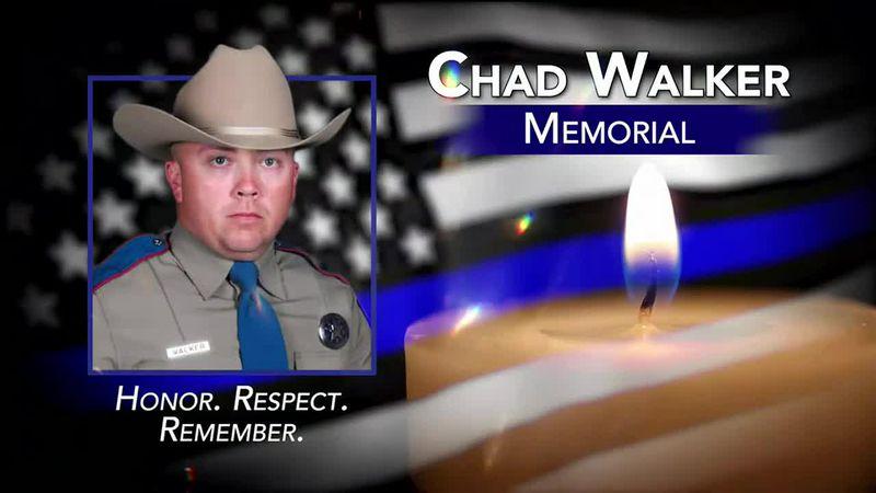 Trooper Chad Walker Service