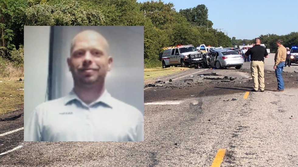 Randall Thurman, 34, a registered sex offender, was killed after his car collided with an...