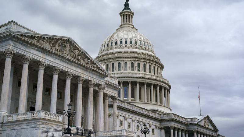 The Capitol is seen in this file photo. A woman with a bit was arrested after allegedly...