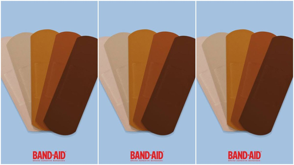 Band Aid Will Make Black And Brown Flesh Toned Bandages