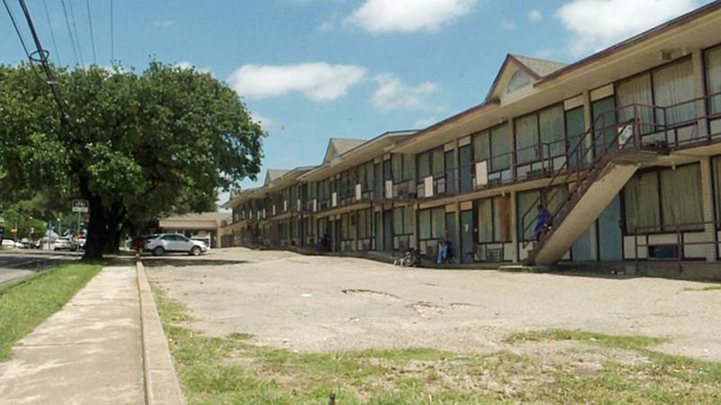 Dozens of low-income residents still call the Oak Lodge motel their home.
