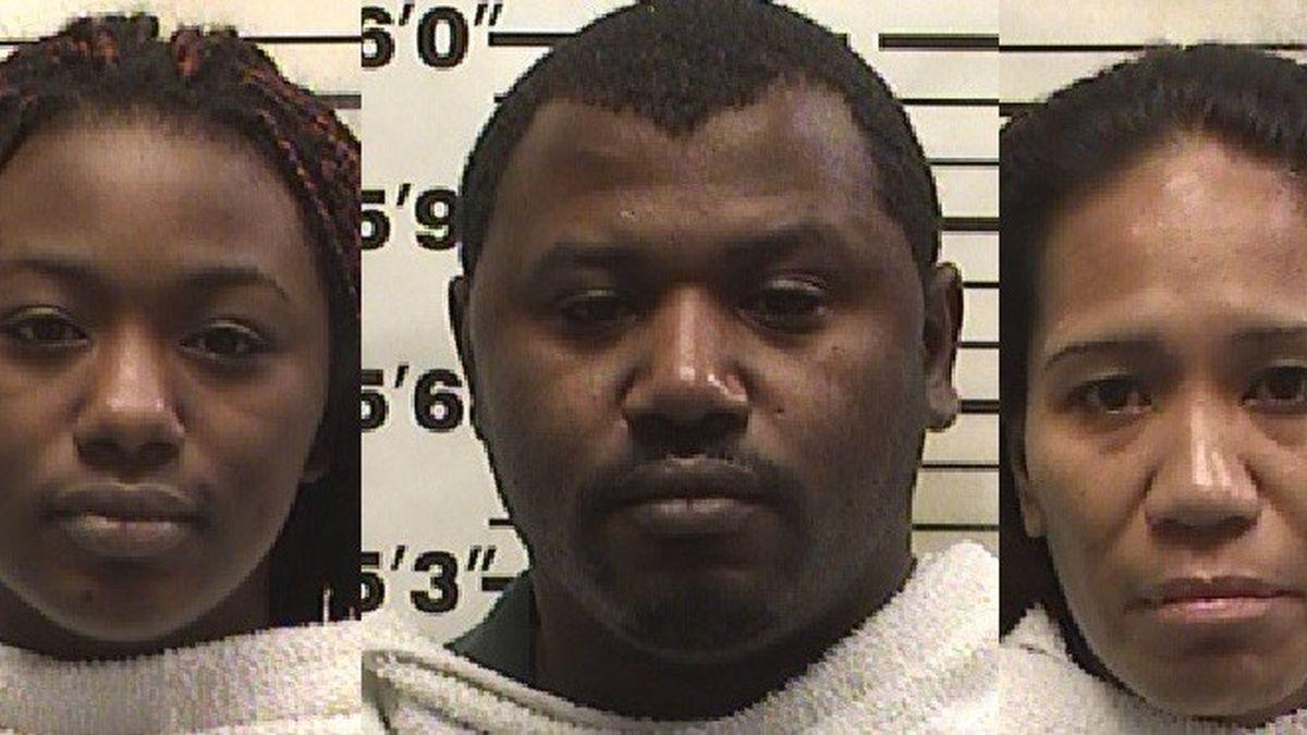 Tommorriea Pace, Tommorrio Pace, Wynette Scott.  (Jail photos)