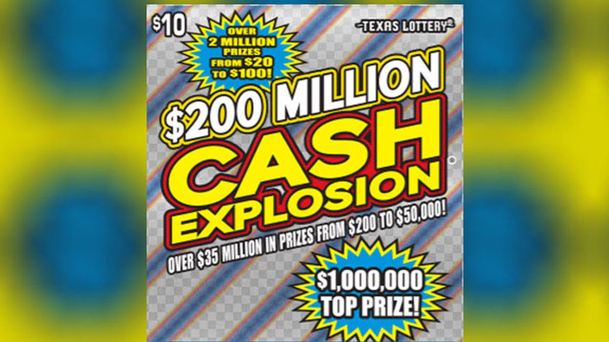 A Killeen resident has claimed a $1 million Texas Lottery scratch-off prize. (Texas Lottery...