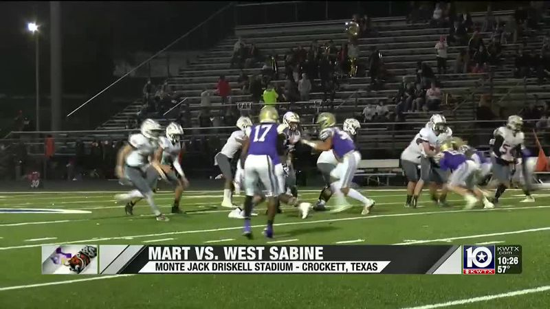 Mart vs. West Sabine