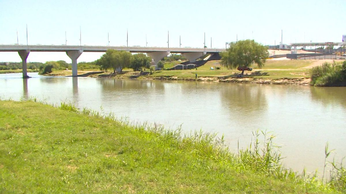 The Rio Grande is dwindling due to poor runoff and officials expect large sections of the river to run dry.  (File)