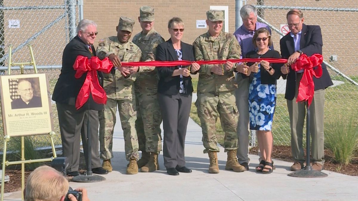 After five years in the making, the Operational Test Command opened the doors on post to its new Technology Integration Center. (Photo by Chelsea Edwards)
