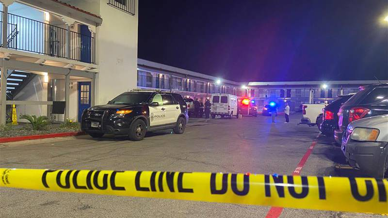 Police say 2 people were shot Tuesday evening at St. John's Avenue and southbound Interstate 35...