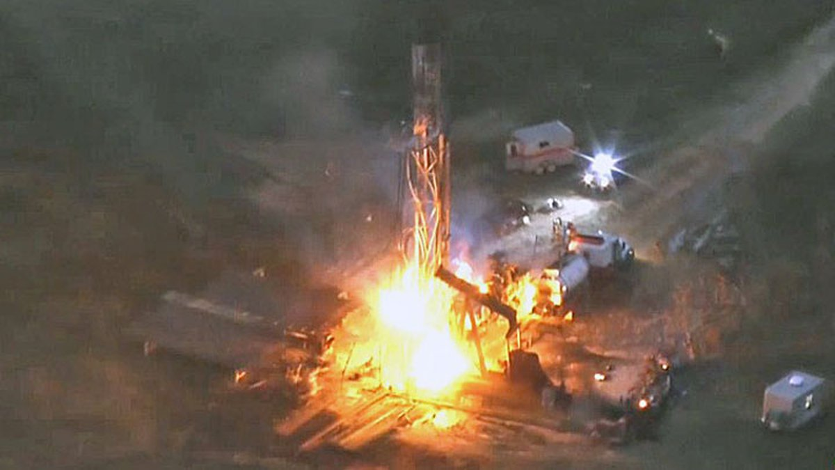 A contractor died and three other workers were injured in an explosion Wednesday afternoon...