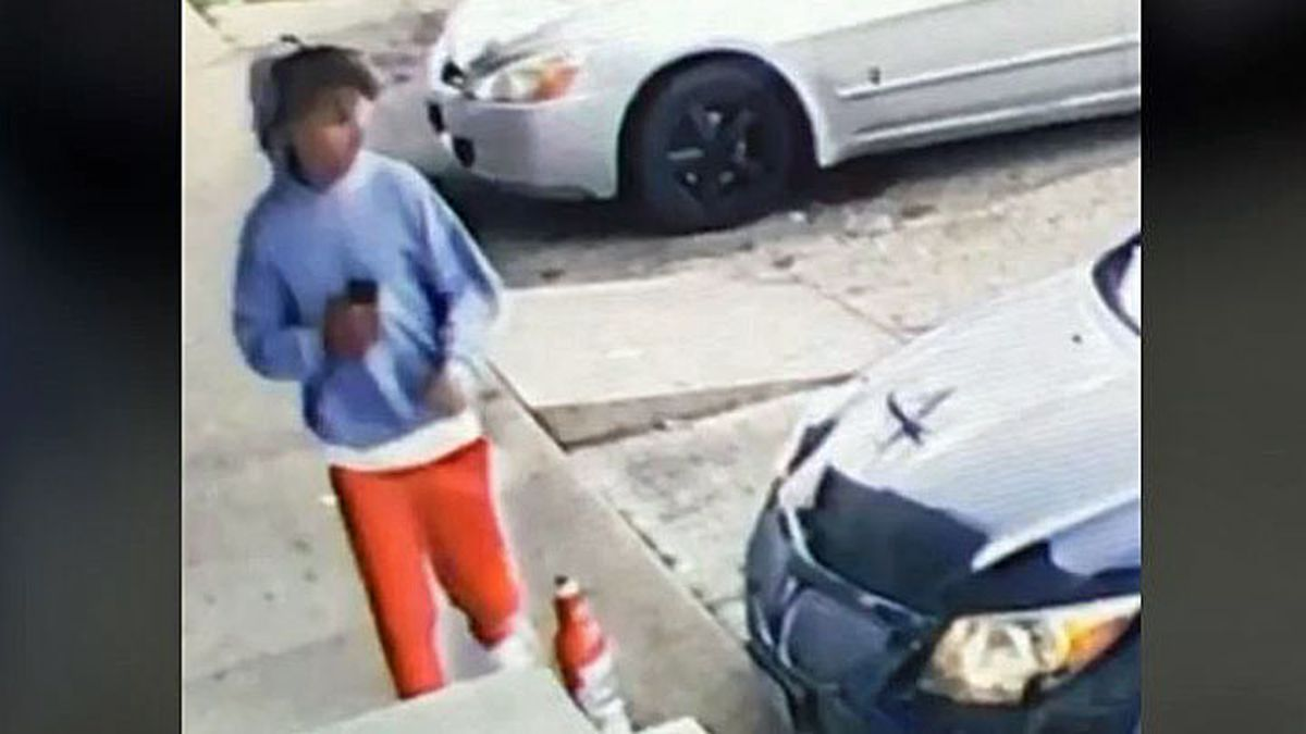 Killeen police released a surveillance image of a car theft suspect who ran after crashing the stolen vehicle.