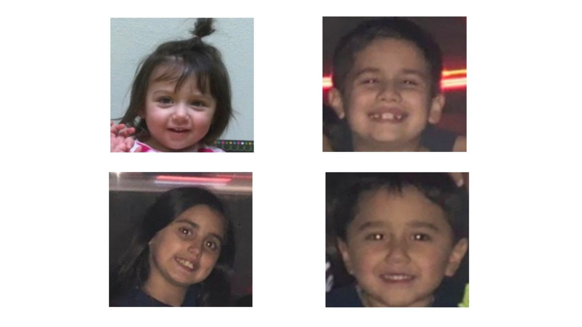 The Amber alert is cancelled as four Texas children were found safe.