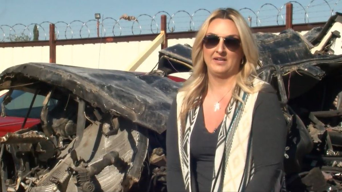 File Photo: Tera Crossland spoke out against the dangers of drunk driving after losing her son...