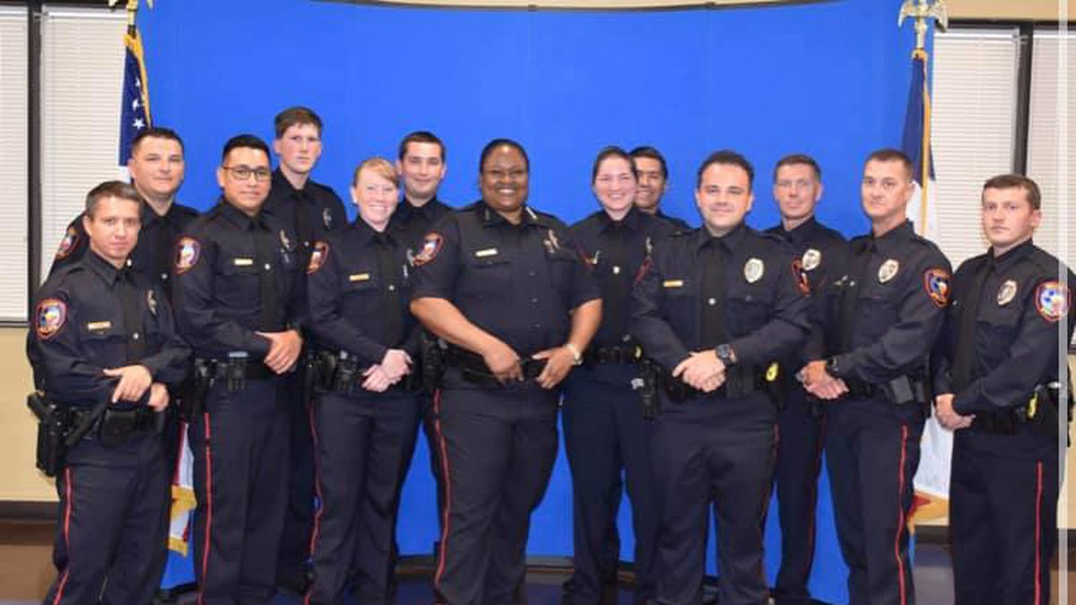 12 new Waco police officers were sworn in on Monday.
