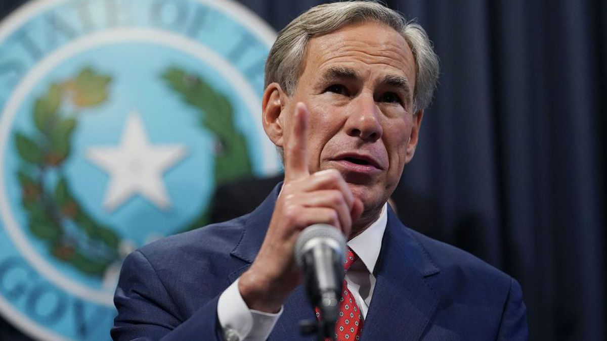Texas Gov. Greg Abbott Monday announced he won't throw out the first pitch at the Rangers home...