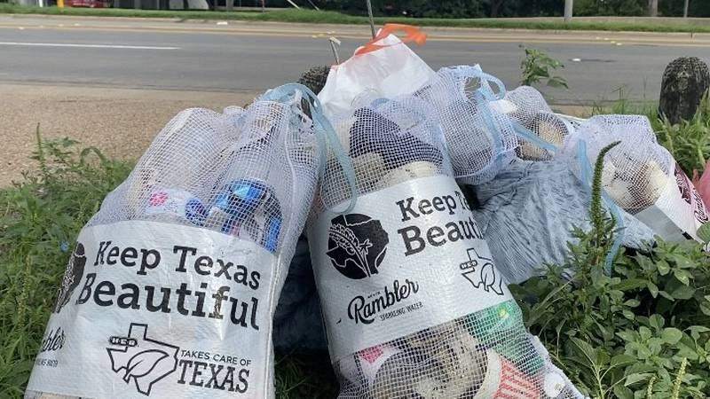 To complete final preparations and make sure the area is clean, Keep Waco Beautiful, in...