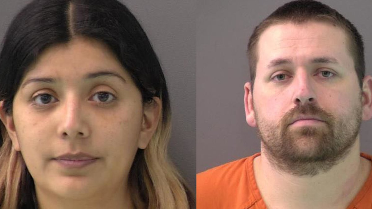 Maria Gilseth and her husband Jeffrey Gilseth were booked into the Bell County Jail just after...