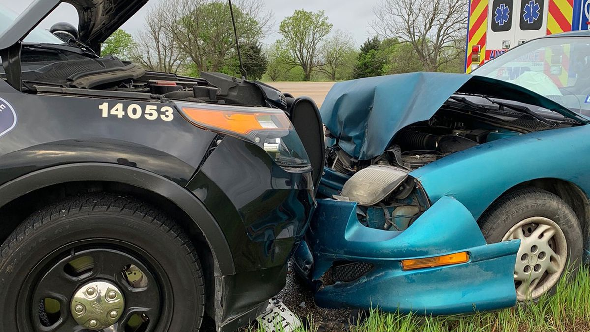 A 40-year-old man who may have fallen asleep at the wheel was taken to a local hospital after...