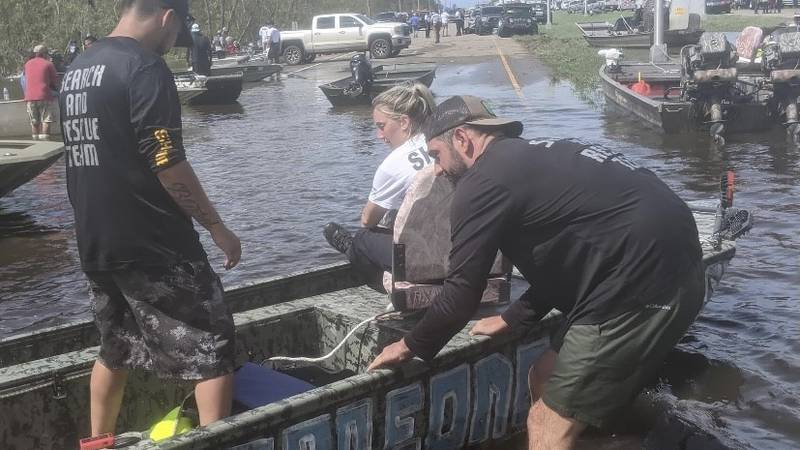 As relief efforts continue in Louisiana after Hurricane Ida, one Central Texas man and his...
